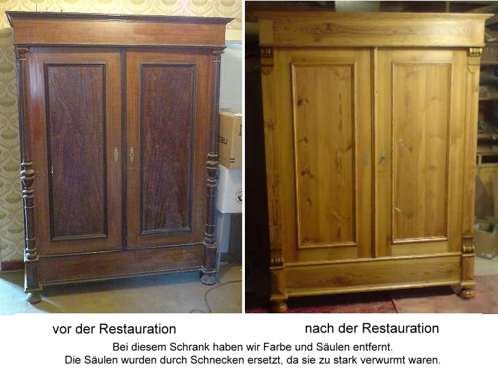 schrank restaurieren vintage interessante ideen f r die gestaltung eines raumes. Black Bedroom Furniture Sets. Home Design Ideas